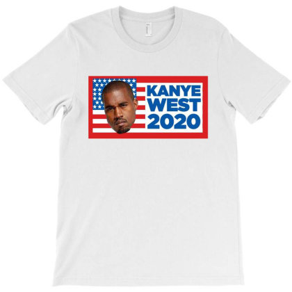 Kanye West Announced He's Running For President In 2020 T-shirt Designed By Donkey Apparel