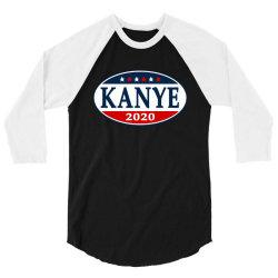kanye west 2020 3/4 Sleeve Shirt | Artistshot