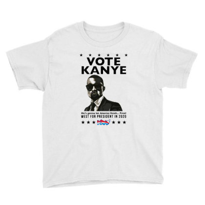 Kanye Graduates From Hip Hop To Politics Youth Tee Designed By Donkey Apparel