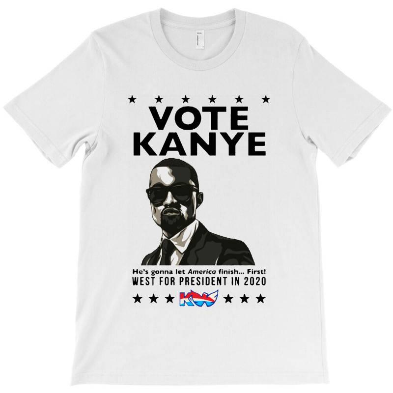 Kanye Graduates From Hip Hop To Politics T-shirt | Artistshot