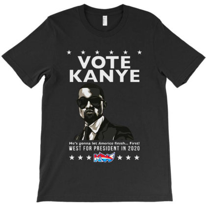 Kanye Graduates From Hip Hop To Politics T-shirt Designed By Donkey Apparel