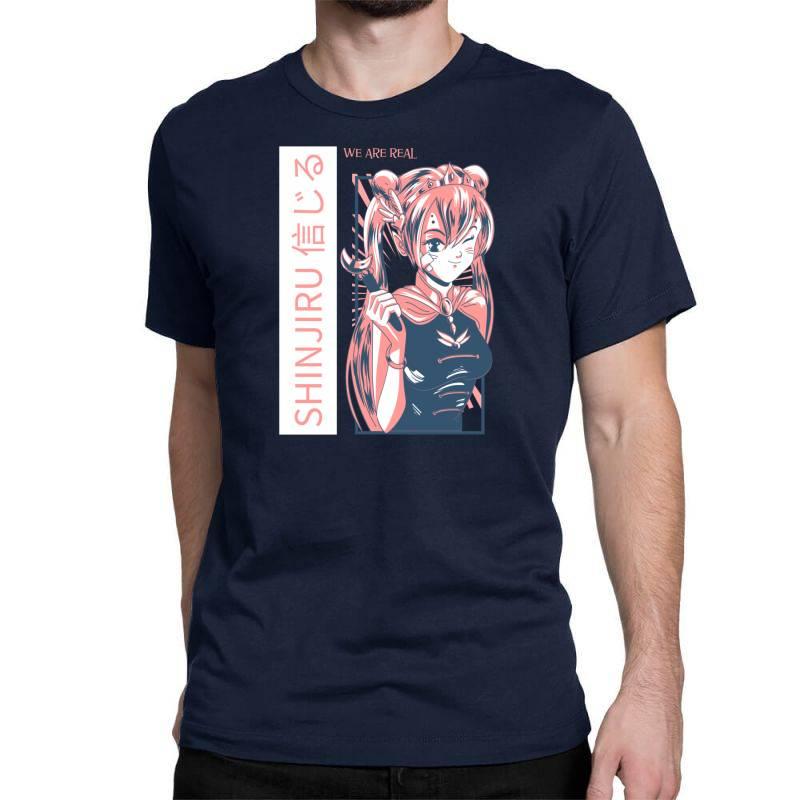 Anime Girl Classic T-shirt   Artistshot
