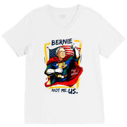 kids not me us bernie for president V-Neck Tee | Artistshot
