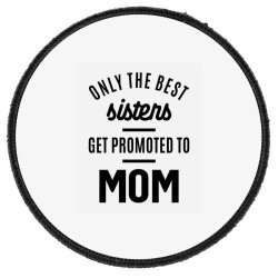Womens Promoted To Mom - Mother's Day Gifts Round Patch Designed By Cidolopez