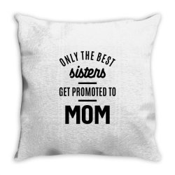 Womens Promoted To Mom - Mother's Day Gifts Throw Pillow | Artistshot