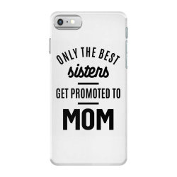 Womens Promoted To Mom - Mother's Day Gifts iPhone 7 Case | Artistshot