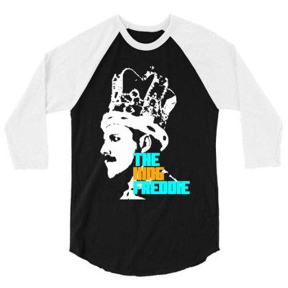 Freddie Mercury 3/4 Sleeve Shirt Designed By Mrt90