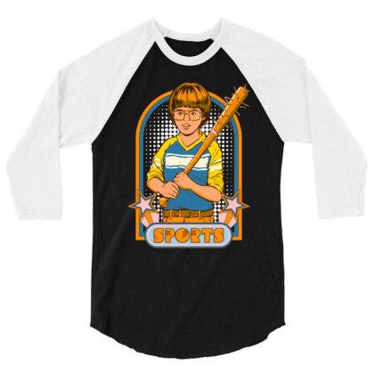 Extreme Sports Classic 3/4 Sleeve Shirt Designed By Badaudesign