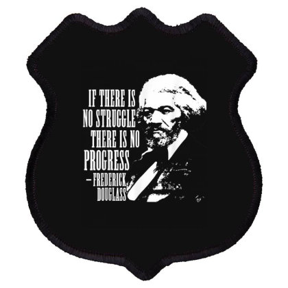 Frederick Douglass Quote Black History Month Shield Patch Designed By Conco335@gmail.com