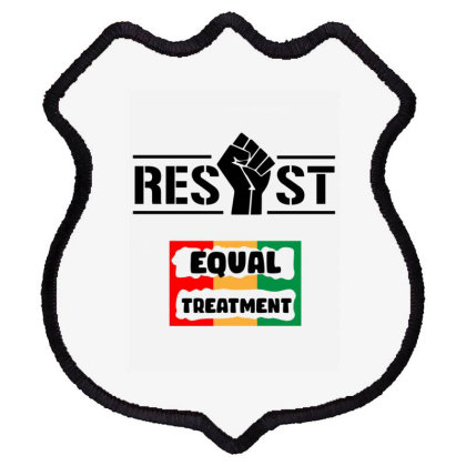 Resist Equal Treatment Shield Patch Designed By Conco335@gmail.com