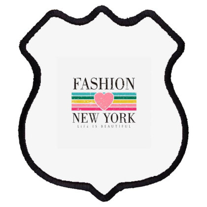 Newyork Shield Patch Designed By Disgus_thing