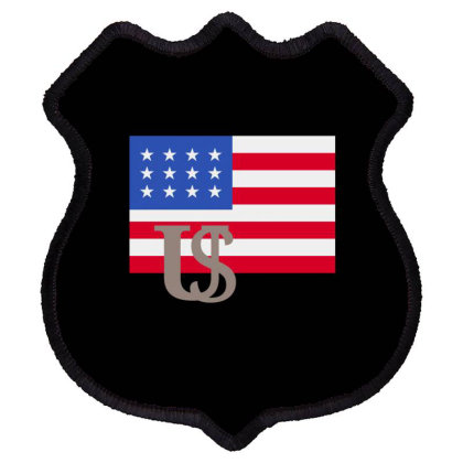 Us Flag Shield Patch Designed By Thakurji