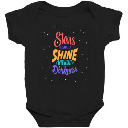 stars cant shine without darkness Baby Bodysuit | Artistshot