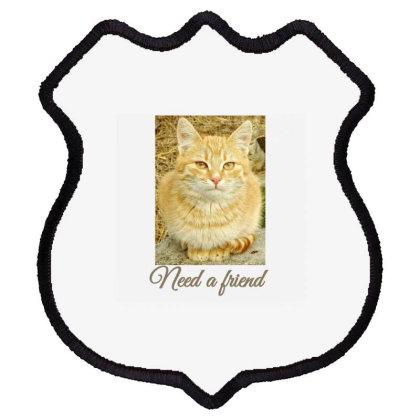 Cat Shield Patch Designed By Thakurji