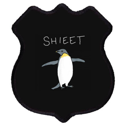 Shieet The Penguin Shield Patch Designed By Kakashop