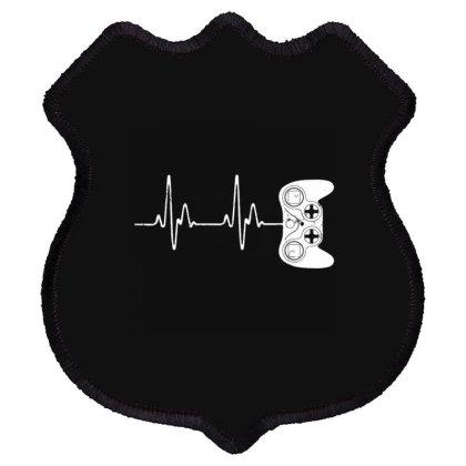 Gamer Heartbeat Shield Patch Designed By Kakashop