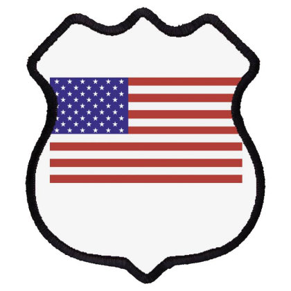 American Flag Shield Patch Designed By Estore
