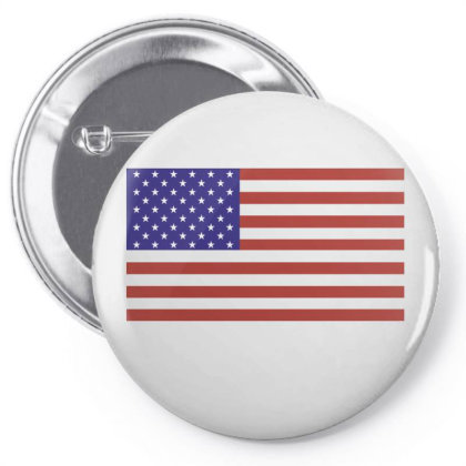 American Flag Pin-back Button Designed By Estore