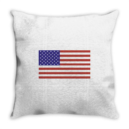 American Flag Throw Pillow Designed By Estore