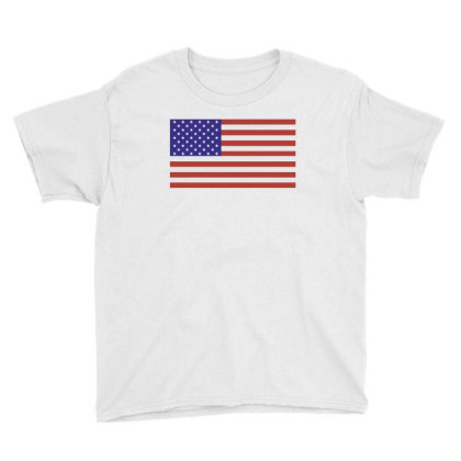 American Flag Youth Tee Designed By Estore