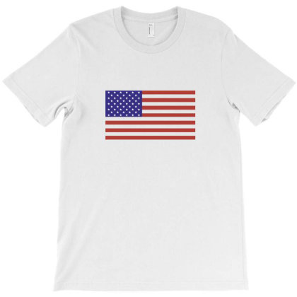 American Flag T-shirt Designed By Estore