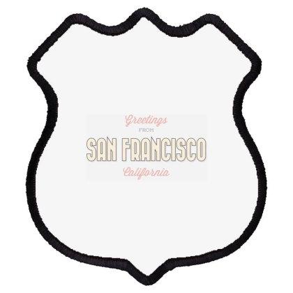 San Francisco, California Shield Patch Designed By Estore