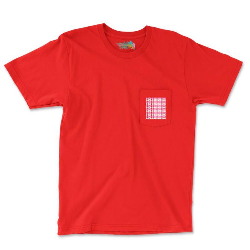 1800 Hotlinebling Pocket T-shirt | Artistshot