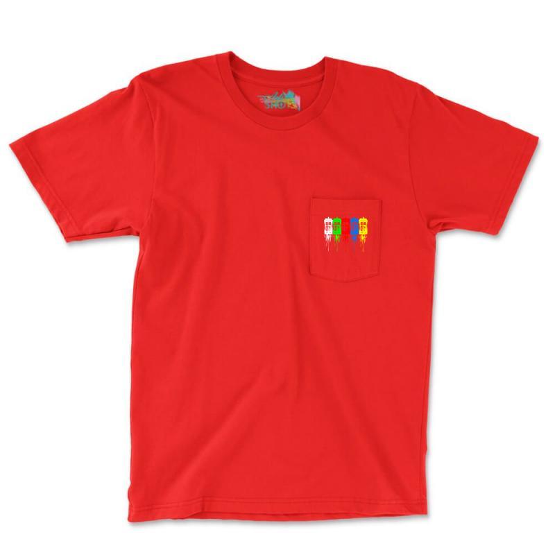 Tardis Dr Who Pocket T-shirt   Artistshot