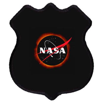 Nasa Solar Eclipse Shield Patch Designed By Kakashop