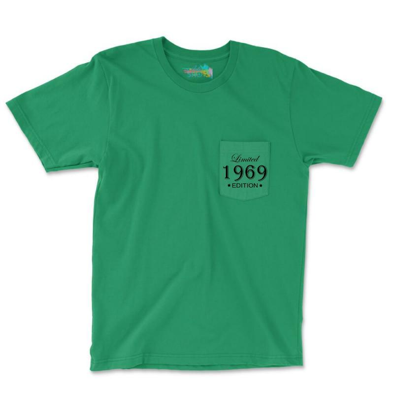 Limited Edition 1969 Pocket T-shirt | Artistshot