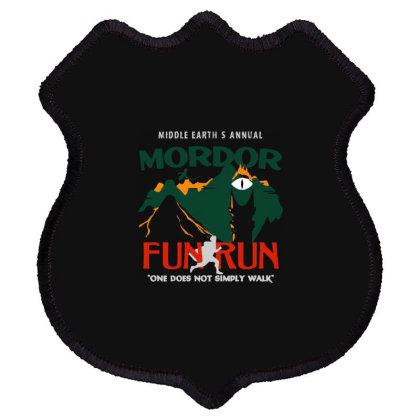 Mordor Fun Run Shield Patch Designed By Doremi Tees