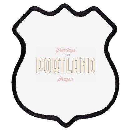 Portland, Oregon Shield Patch Designed By Estore