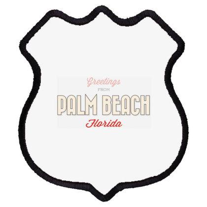 Palm Beach, Florida Shield Patch Designed By Estore