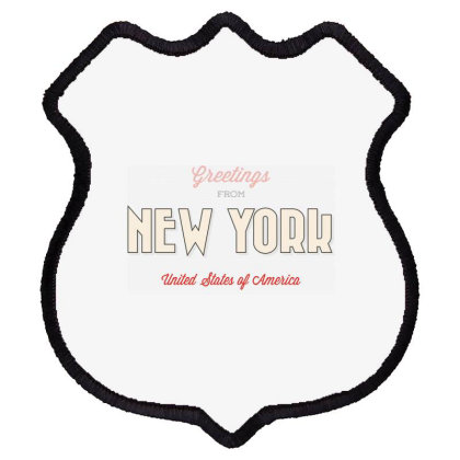 New York, United States Of America Shield Patch Designed By Estore