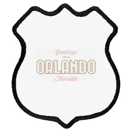 Orlando, Florida Shield Patch Designed By Estore