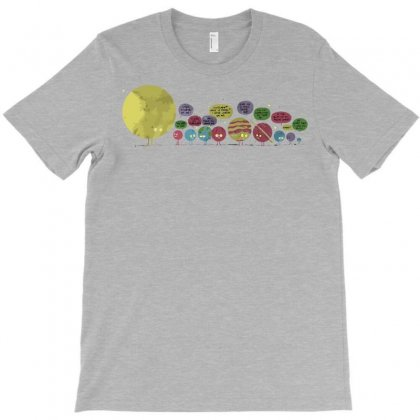Planetary Chatter Vectorized T-shirt Designed By Fandysr88