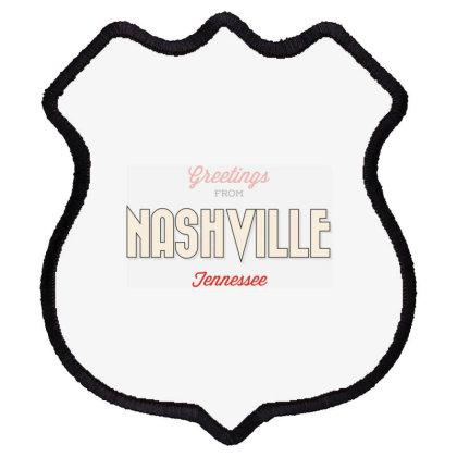Nashville, Jennessee Shield Patch Designed By Estore