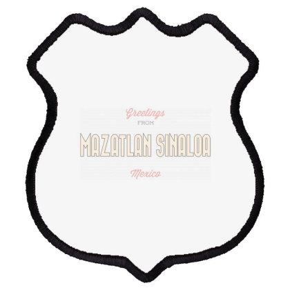 Mazatlan Sinaloa, Mexico Shield Patch Designed By Estore