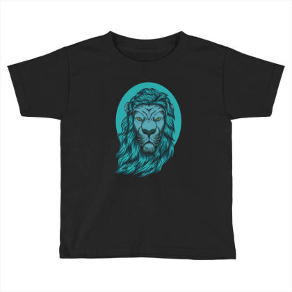 Beautiful Lion The King Of The Jungle Toddler T-shirt Designed By Chris299