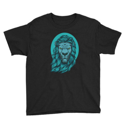 Beautiful Lion The King Of The Jungle Youth Tee Designed By Chris299
