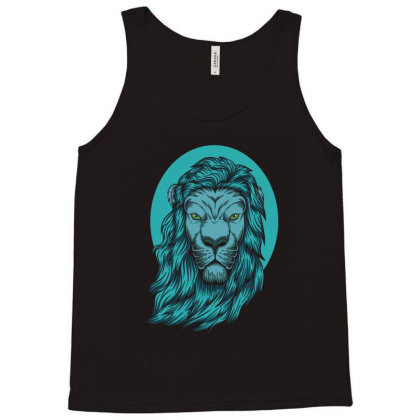 Beautiful Lion The King Of The Jungle Tank Top Designed By Chris299