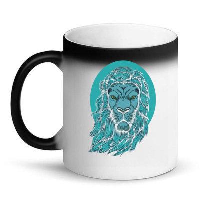 Beautiful Lion The King Of The Jungle Magic Mug Designed By Chris299