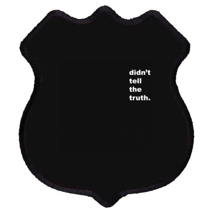 Truth Shield Patch Designed By Disgus_thing