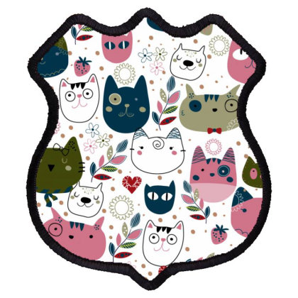 Cats Shield Patch Designed By Disgus_thing