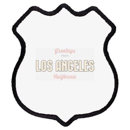 Los Angeles, California Shield Patch Designed By Estore
