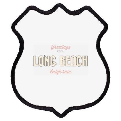 Long Beach, California Shield Patch Designed By Estore