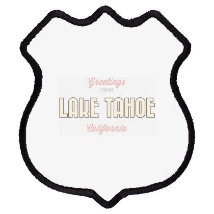 Lake Tahoe, California Shield Patch Designed By Estore