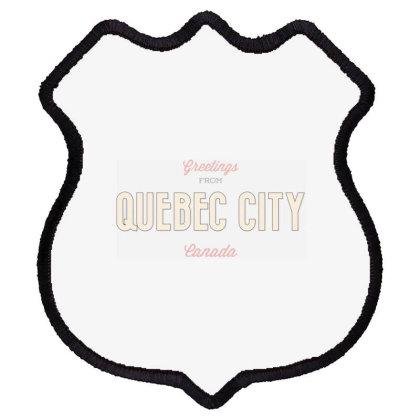 Quebec City, Canada Shield Patch Designed By Estore