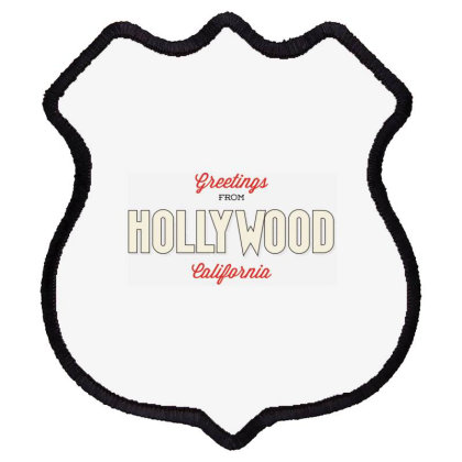 Hollywood, California Shield Patch Designed By Estore