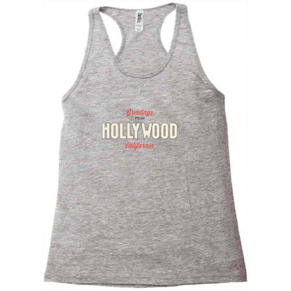 Hollywood, California Racerback Tank Designed By Estore
